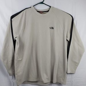 The North Face XXL tan fleece sweatshirt